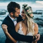 Boho Beach Wedding at Canelands Beach Club by Andy & Szerdi Photography
