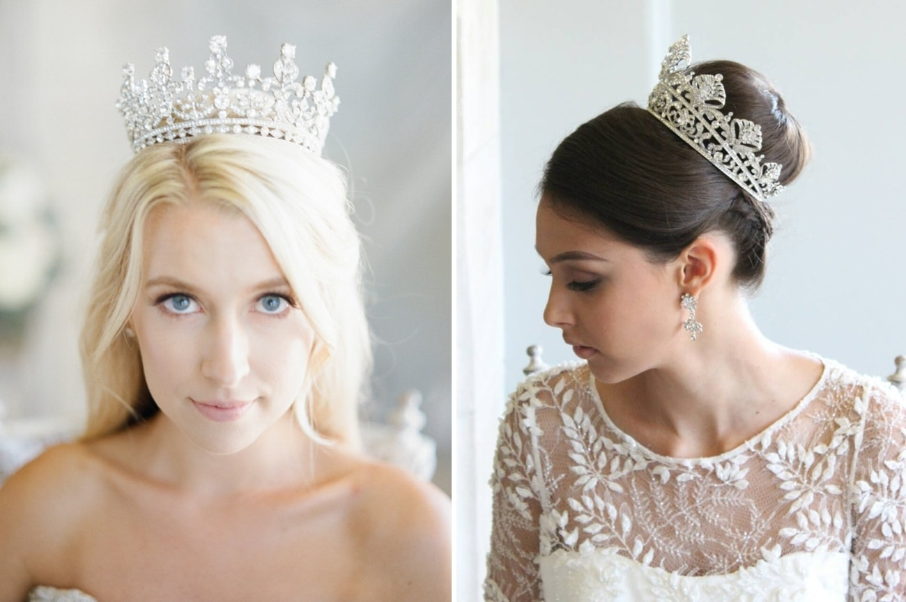 FAIRYTALE BRIDAL CROWNS & TIARAS FROM EDEN LUXE BRIDAL by SOUTHBOUND B