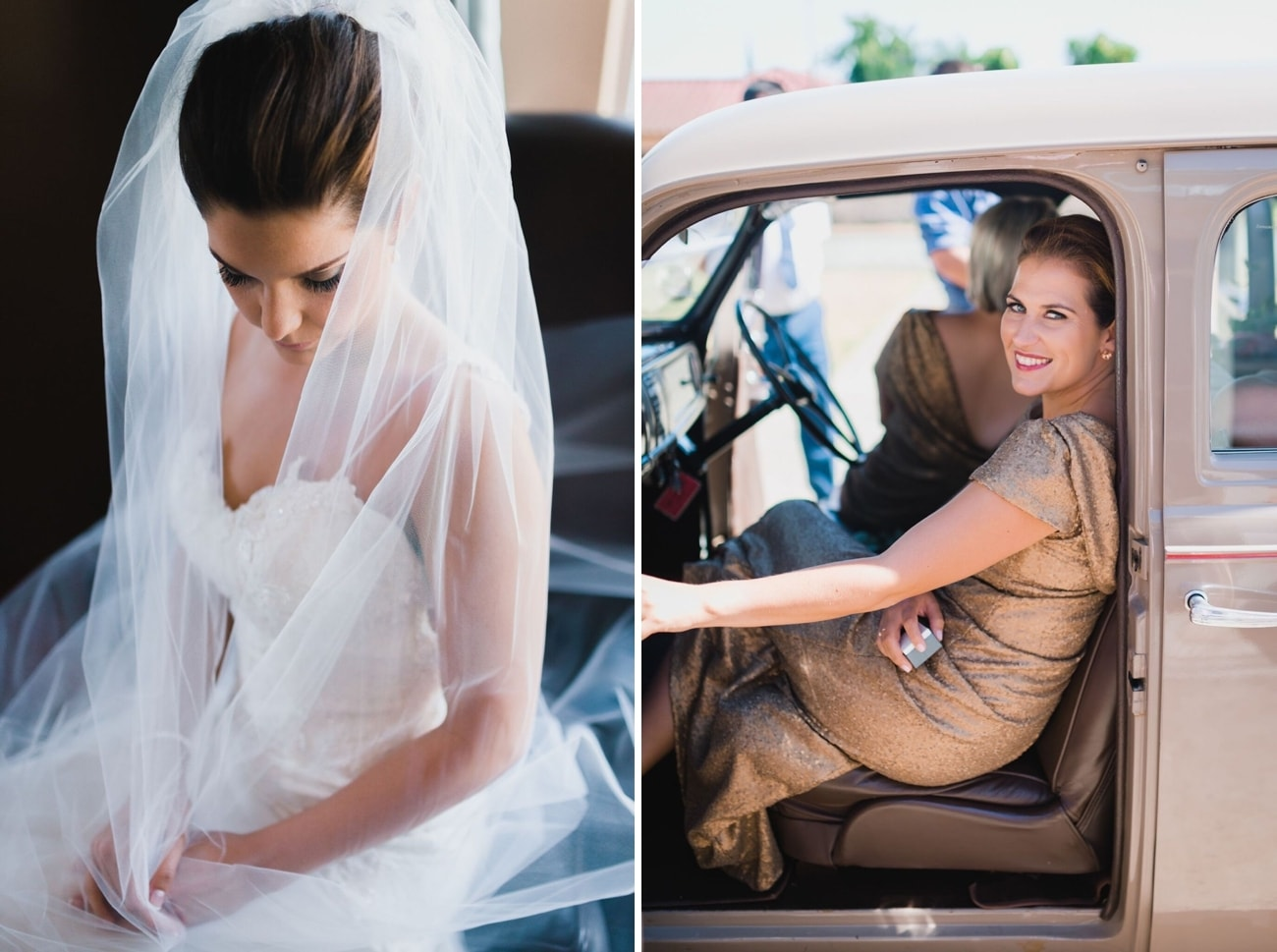 Bride in classic veil | Credit: Matthew Carr