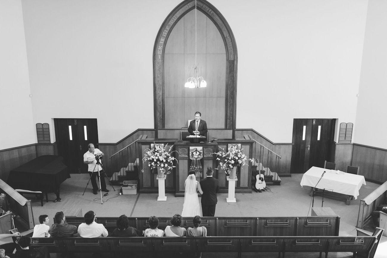 NG Kerk wedding | Credit: Matthew Carr
