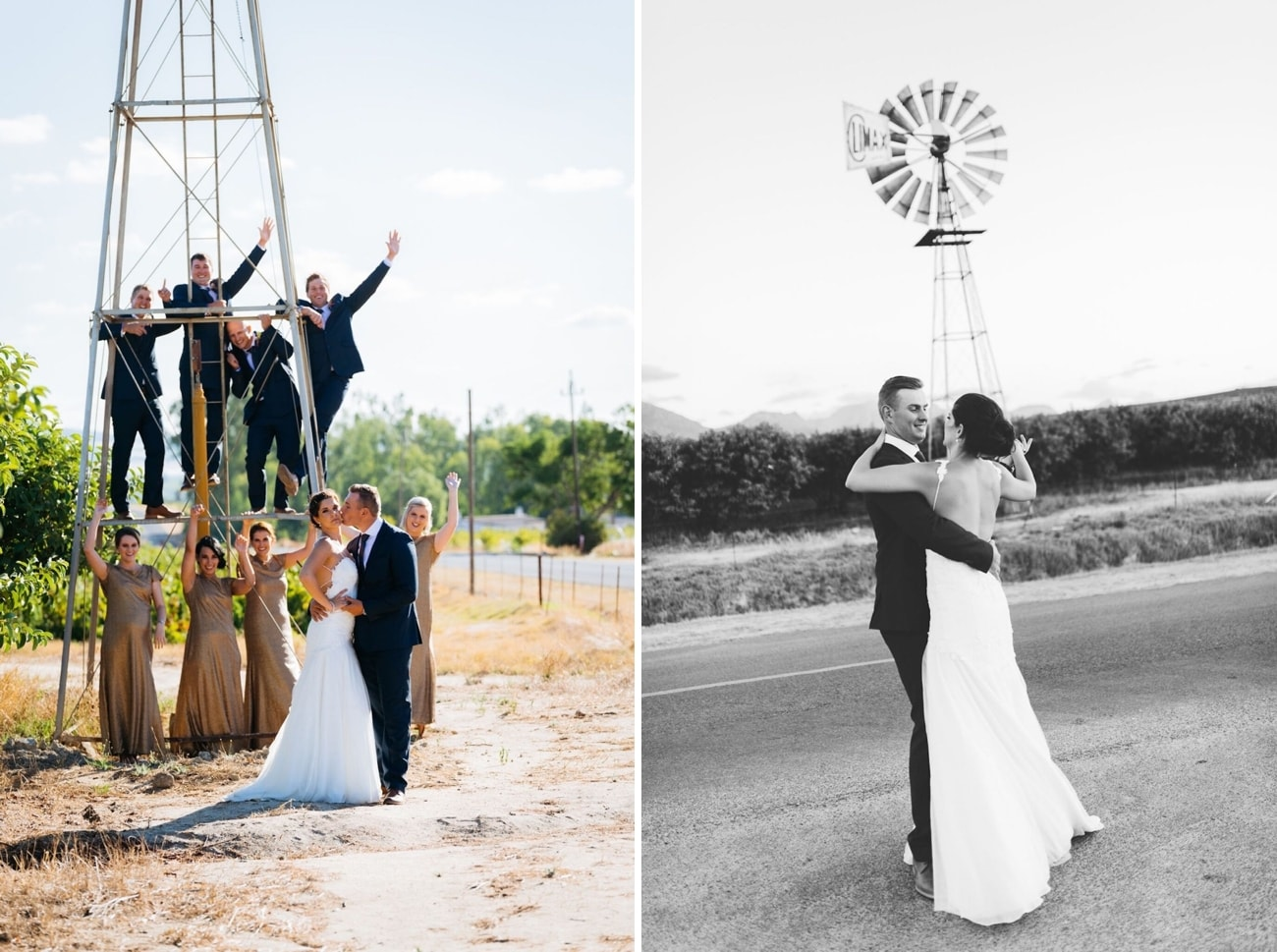 South African farm wedding | Credit: Matthew Carr