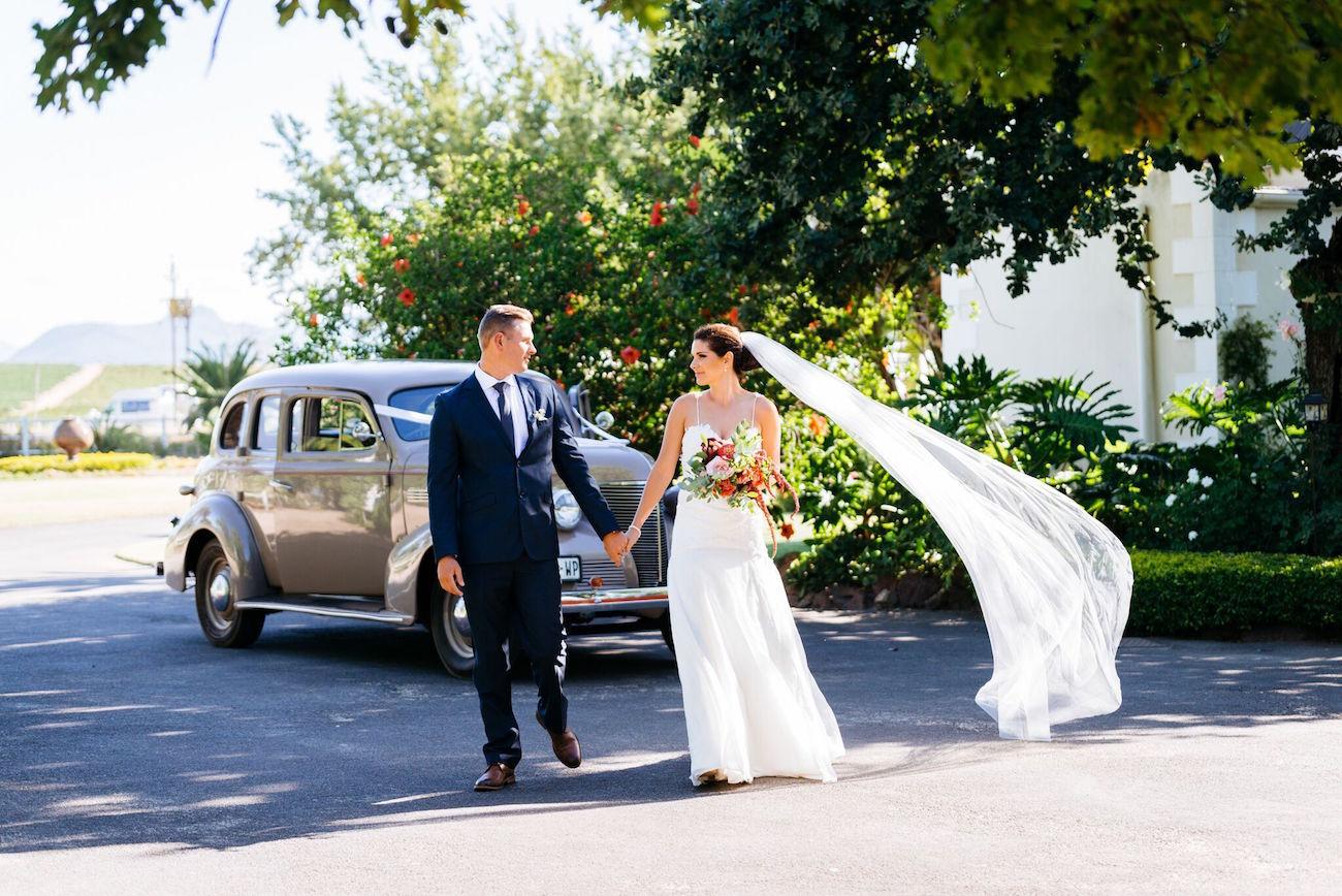 Long wedding veil | Credit: Matthew Carr