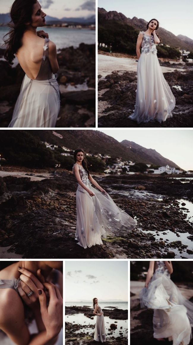 Twilight Ocean Bridal Inspiration | SouthBound Bride