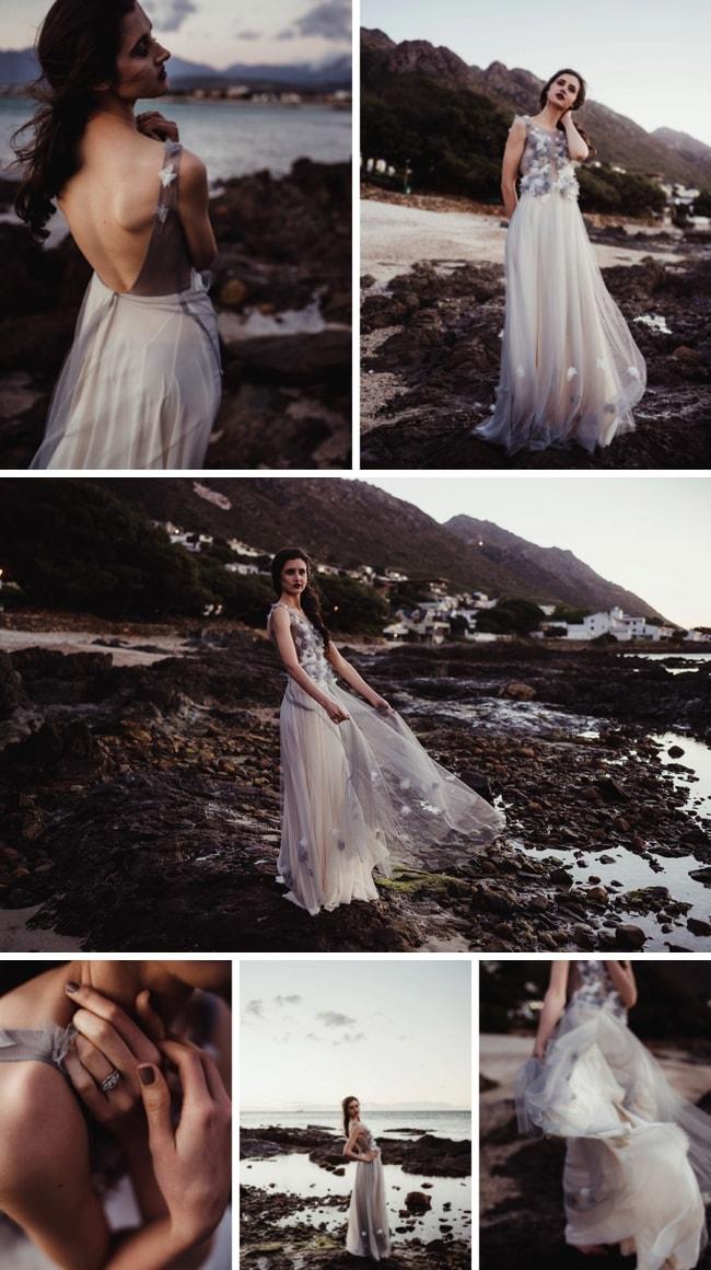 Twilight Ocean Bridal Inspiration | SouthBound Bride
