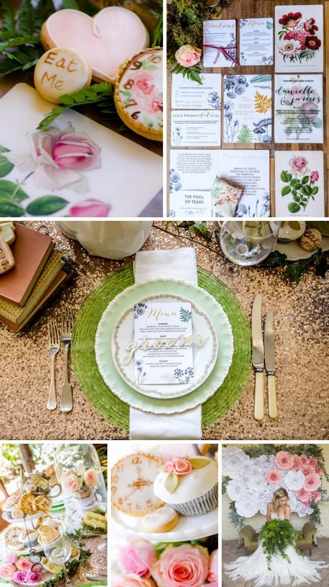 Alice in Wonderland Wedding Inspiration by Jaqui Franco | SouthBound Bride
