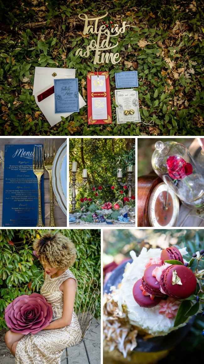 Beauty & the Beast Organic Wedding Inspiration by Jaqui Franco | SouthBound Bride