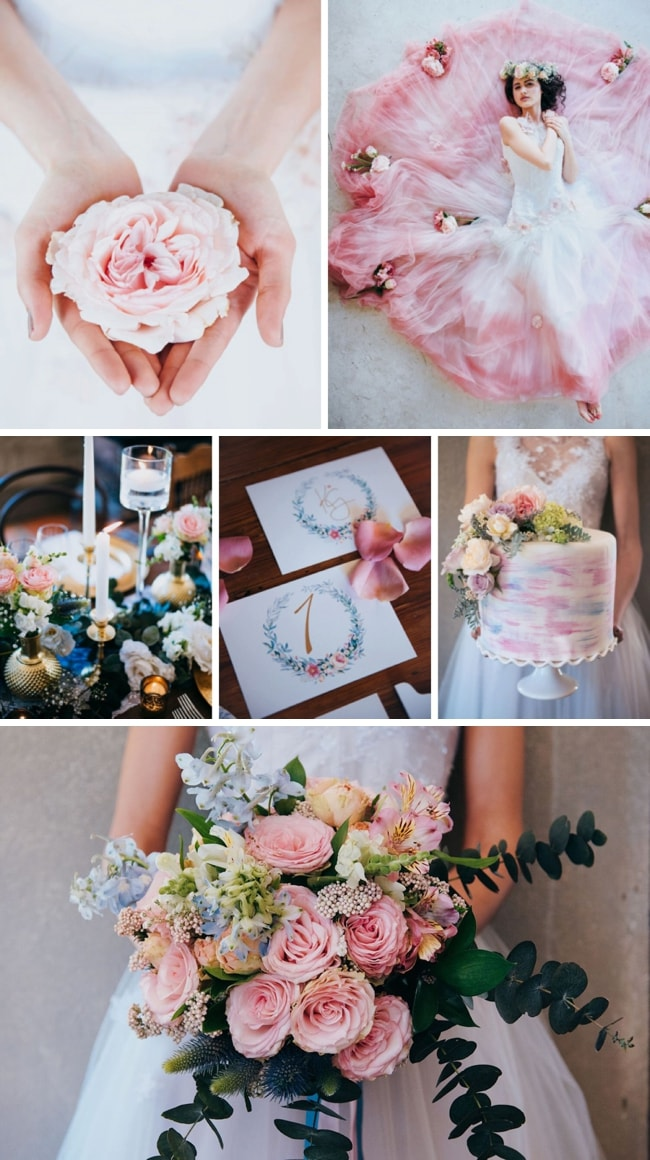 Pastel Wedding Inspiration by Lauren Pretorius | SouthBound Bride