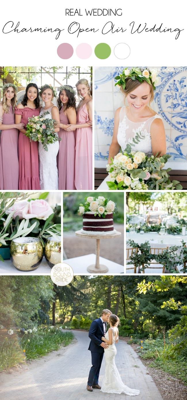Charming Open Air Wedding by Alicia S. Photography | SouthBound Bride