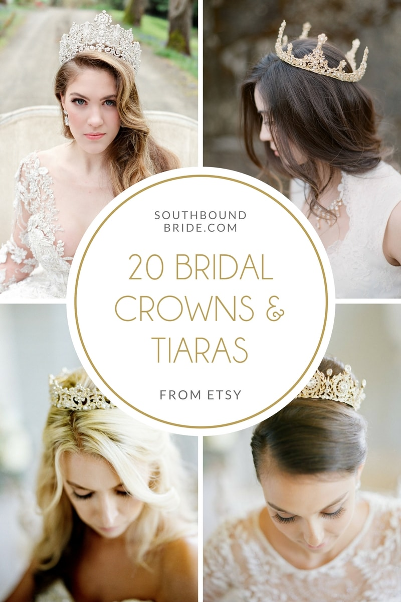 Bridal Crowns & Tiaras from Eden Luxe Bridal | SouthBound Bride