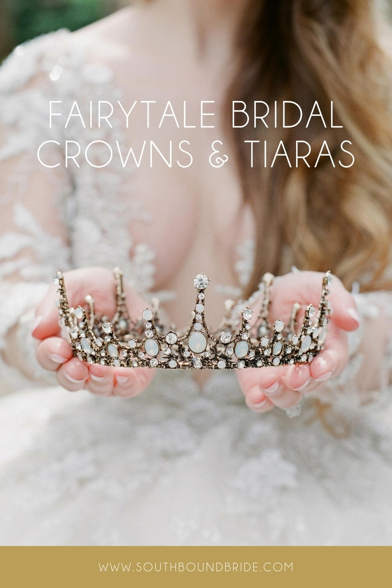Fairytale Bridal Crowns & Tiaras from Eden Luxe Bridal | SouthBound Bride