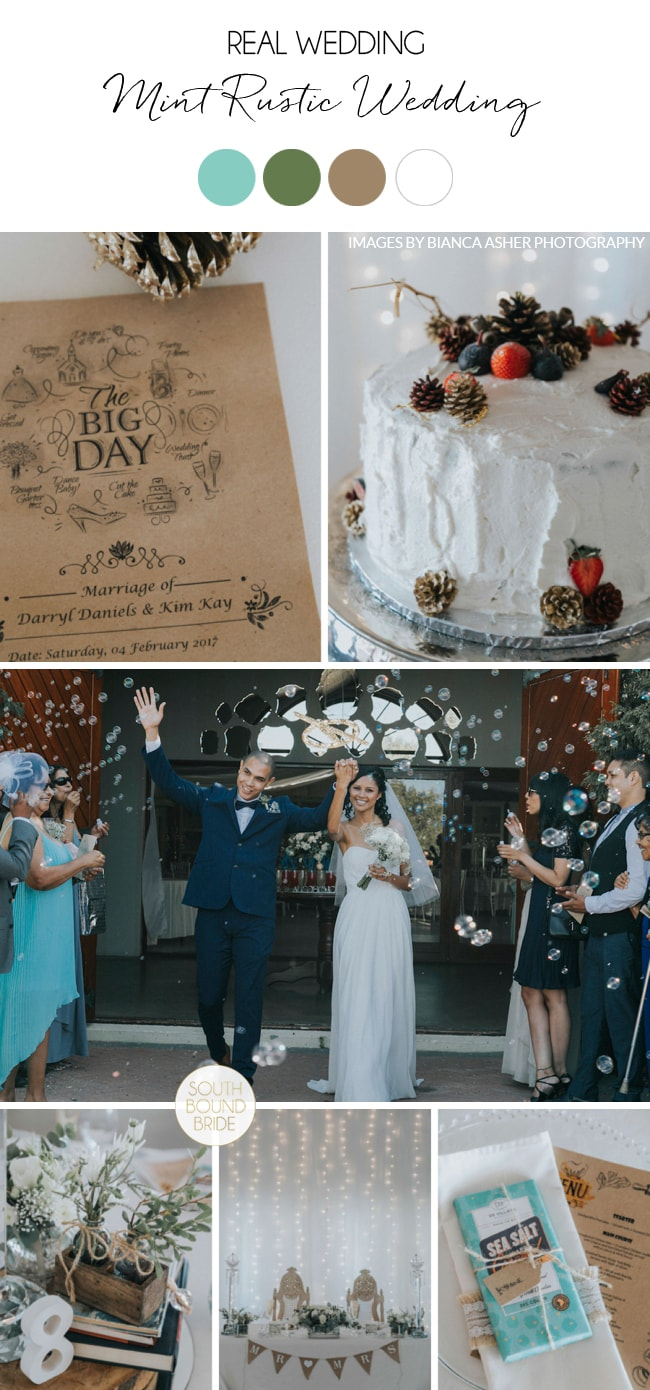 Mint Rustic Wedding by Bianca Asher | SouthBound Bride