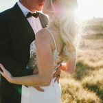 Country Chic Wedding with a Rose Gold Dress at Kronenburg by Claire Thomson