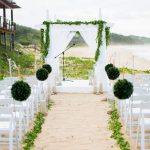 Oceanside Greenery Wedding in Mozambique by Marne Photography