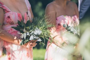 Bridesmaid Bouquets | Credit: Shanna Jones