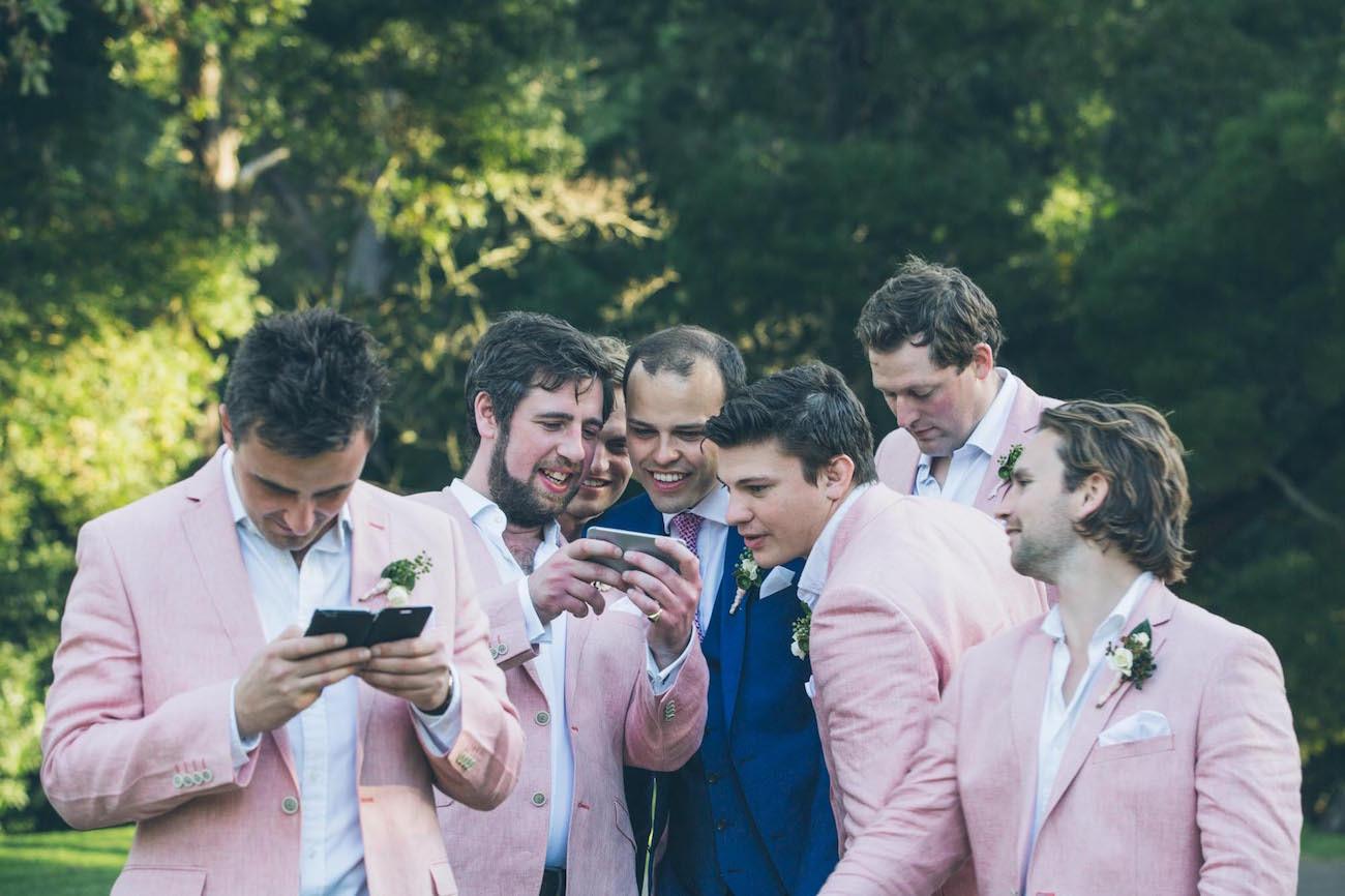 Groomsmen in Pastels | Credit: Shanna Jones