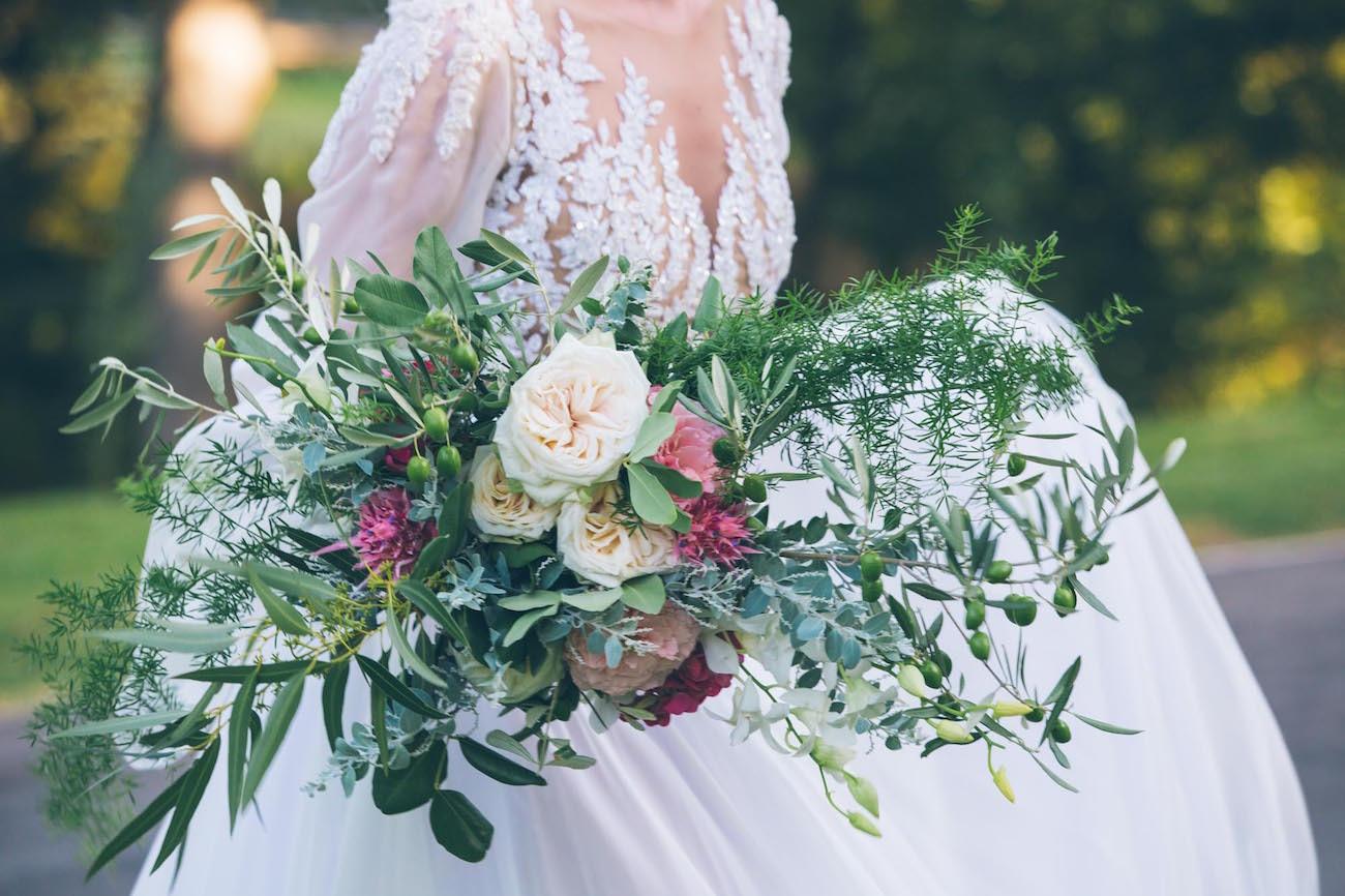 Lush Floral Bouquet | Credit: Shanna Jones