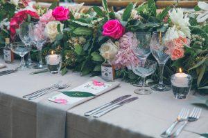 Midsummer Nights Dream Wedding Tablescape | Credit: Shanna Jones