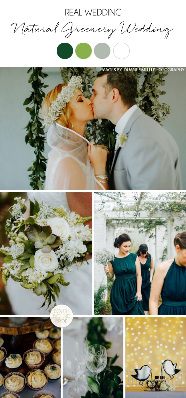 Natural Greenery Wedding at Talloula by Duane Smith | SouthBound Bride