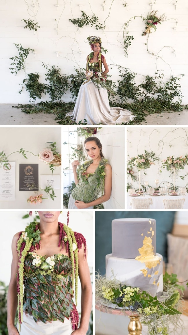 A Vision of Eden Styled Shoot by Ronnie Bliss Photography | SouthBound Bride