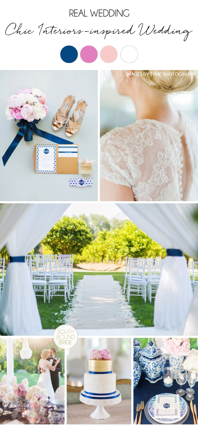 Chic Interiors-inspired Wedding by Wedding Concepts and Tyme Photography | SouthBound Bride