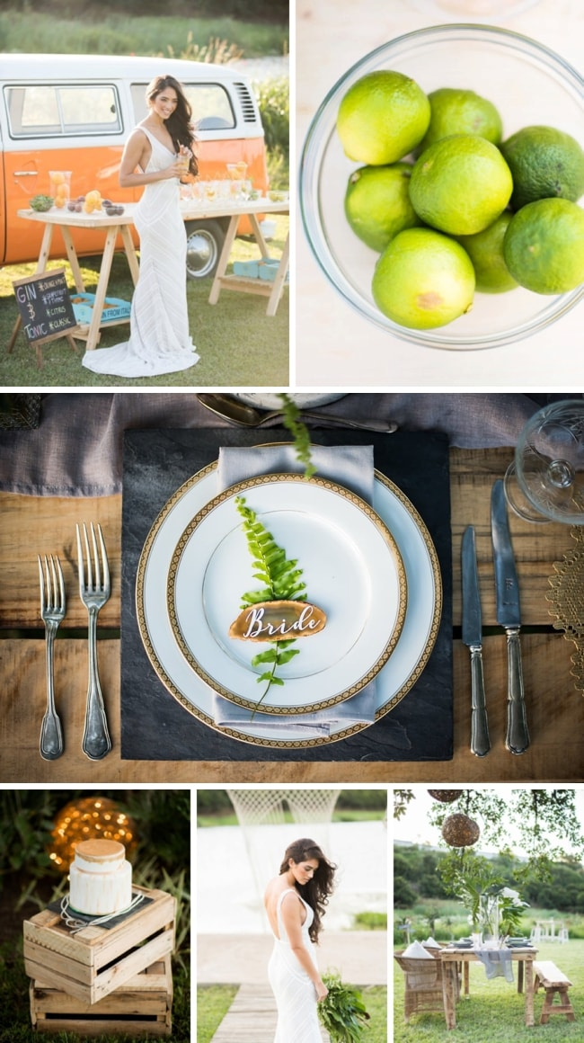 Gin & Greenery Garden Party Wedding Inspiration by PeppermintPix | SouthBound Bride