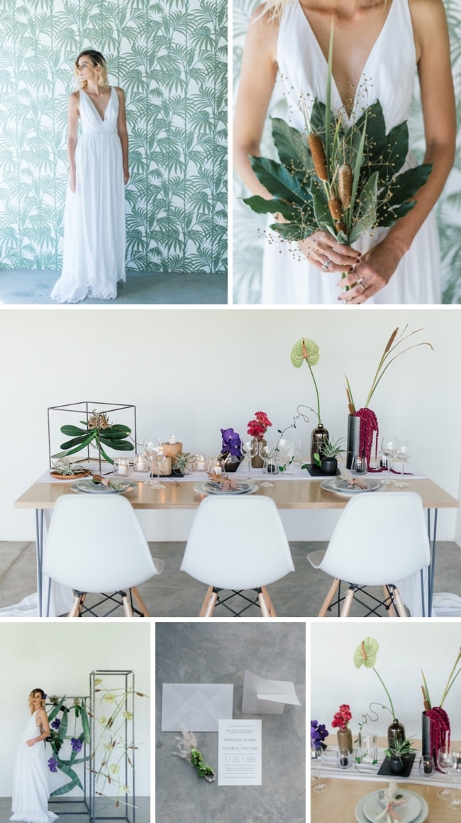 Minimalist Chic Wedding Inspiration | SouthBound Bride