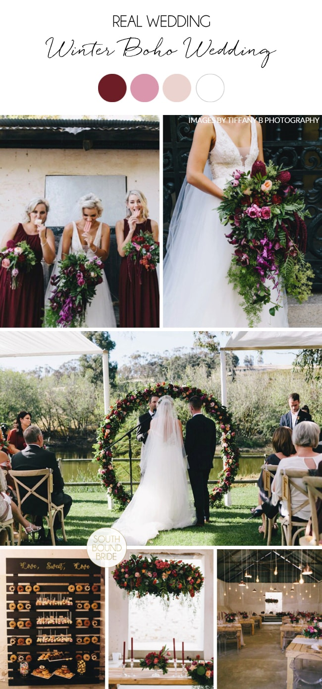 Winter Boho Wedding by Tiffany B | SouthBound Bride