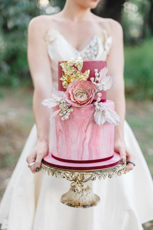 Plum Amp Periwinkle Blue Winter Wedding Inspiration