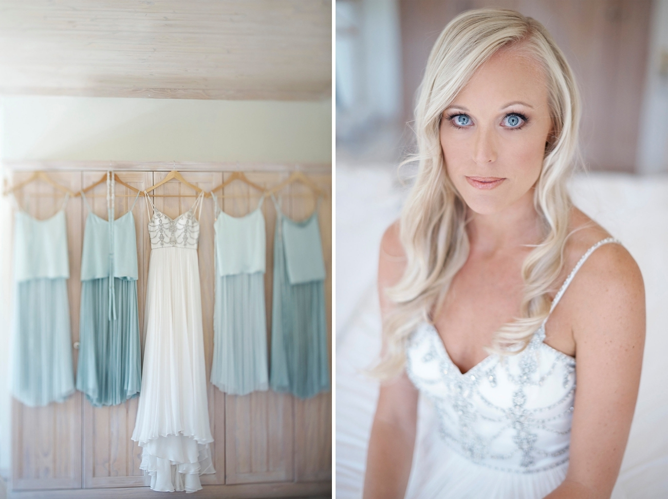 Mint Green Bridesmaid Dresses   Image: Knit Together Photography