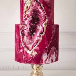 20 Geode & Crystal Wedding Cakes