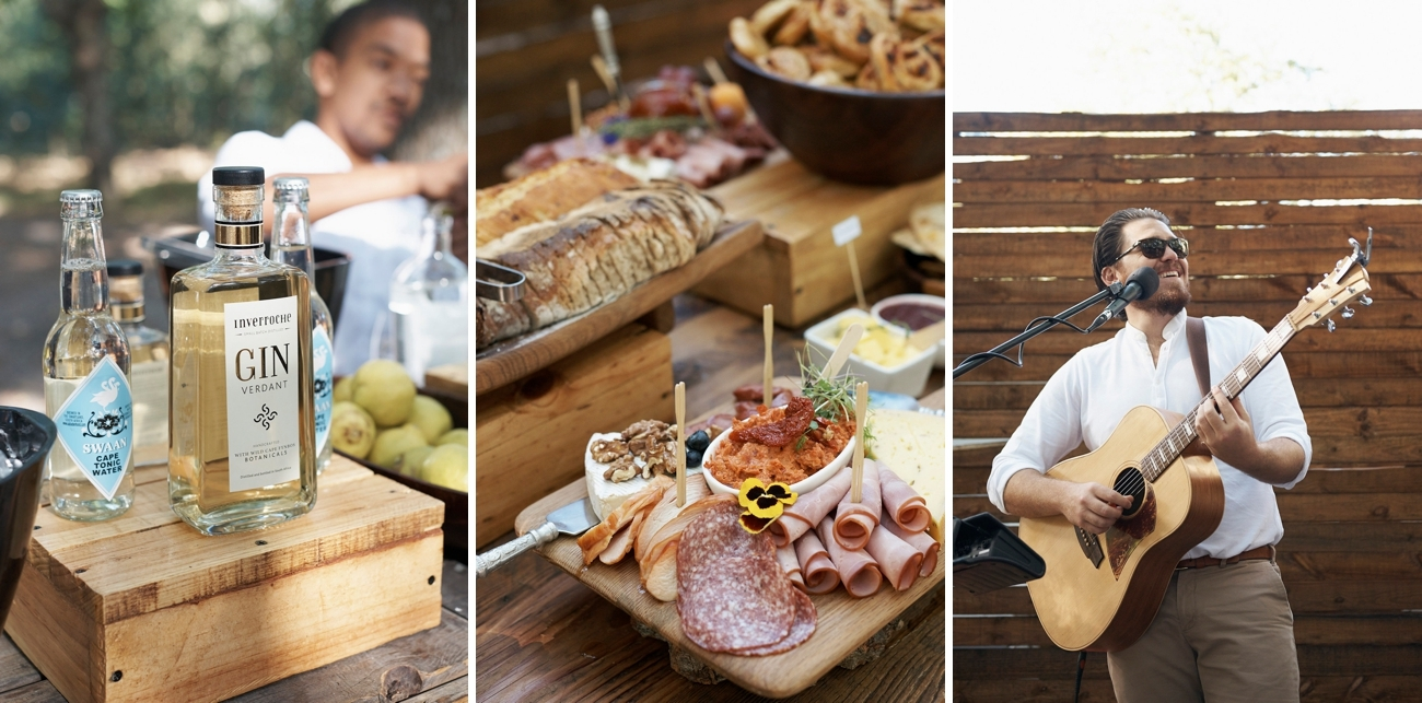 Gin Bar and Antipasto Spread   Image: Knit Together Photography