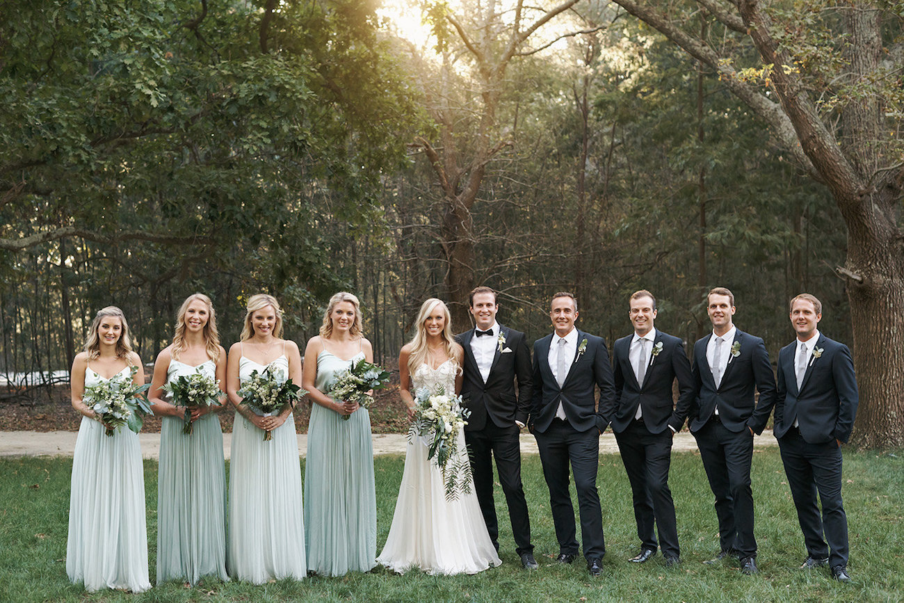 Wedding Party   Image: Knit Together Photography