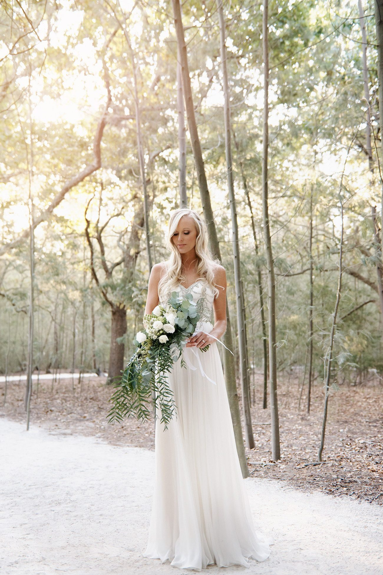 Beautiful Catherine Deane Wedding Dress | Image: Knit Together Photography