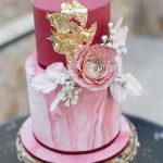 Plum & Periwinkle Blue Winter Wedding Inspiration