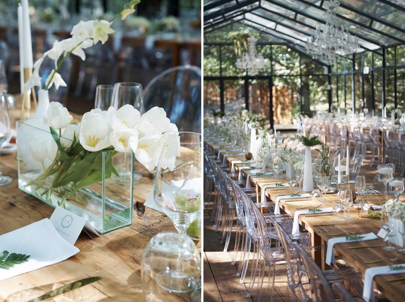 Elegant Rustic Wedding Decor   Image: Knit Together Photography