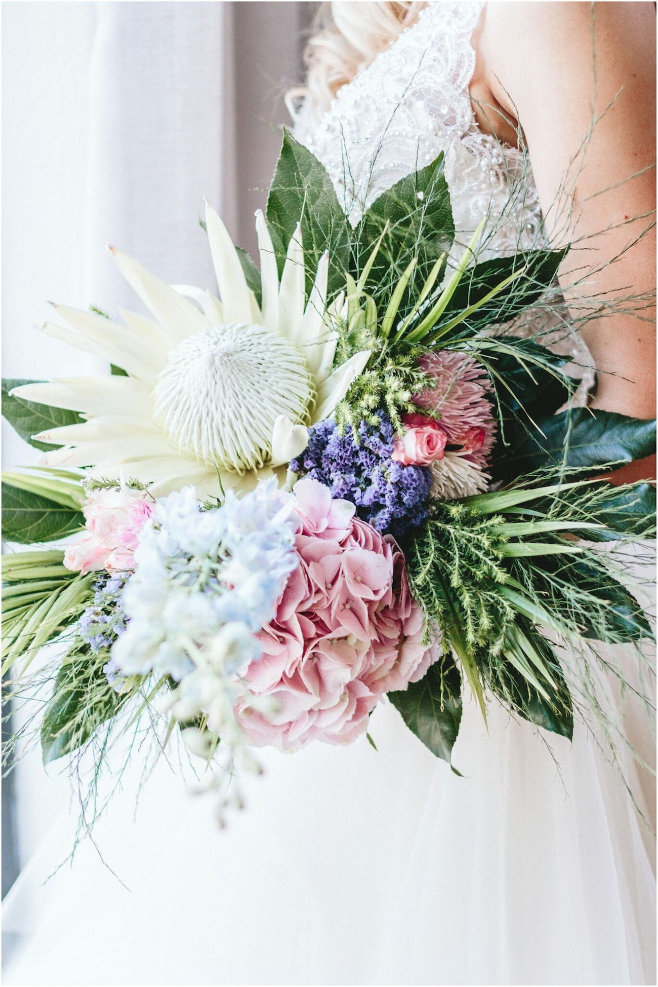 Pastels Amp Proteas Wedding Inspiration By Aline Photography