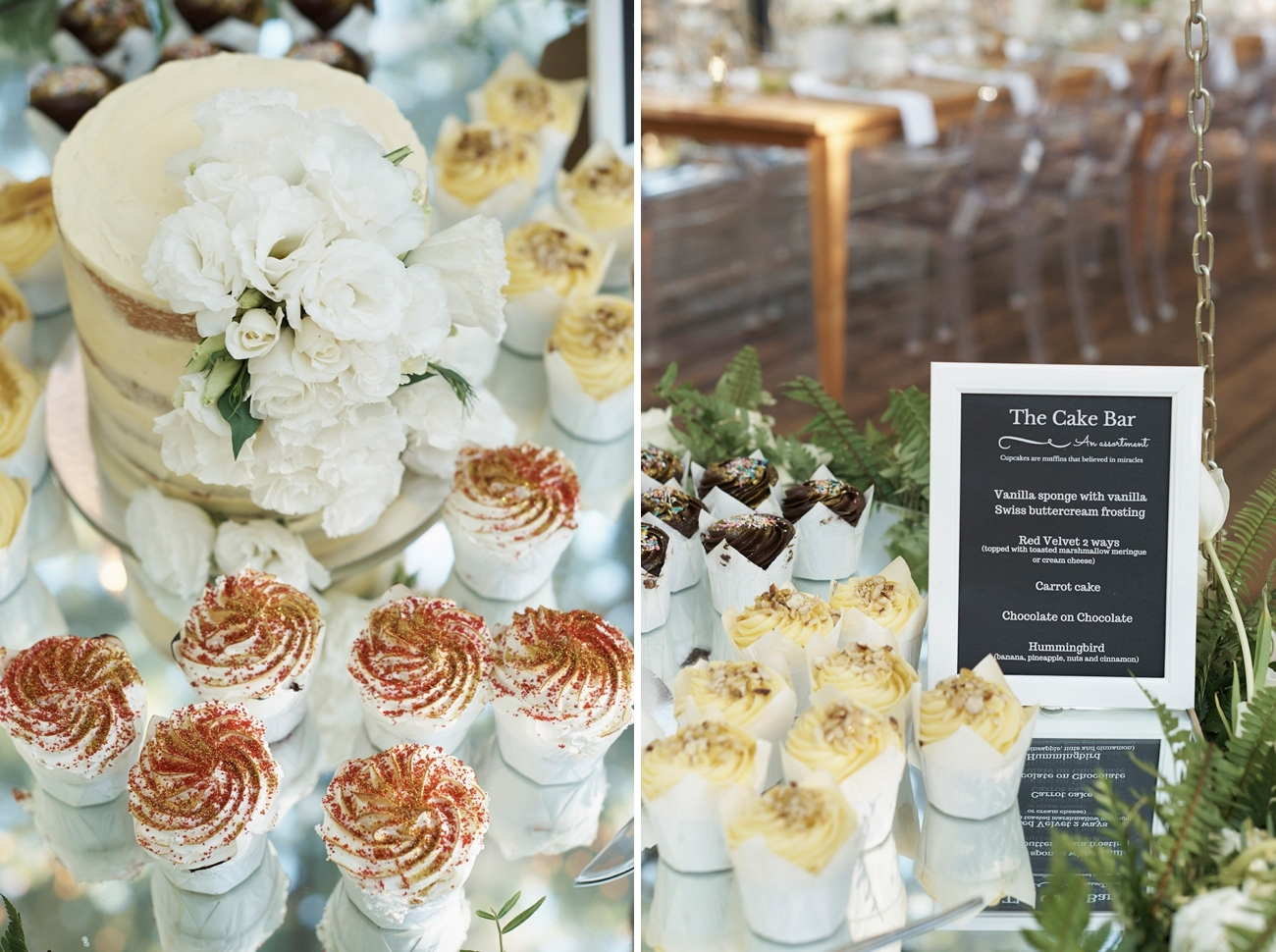 Wedding Cake Bar | Image: Knit Together Photography