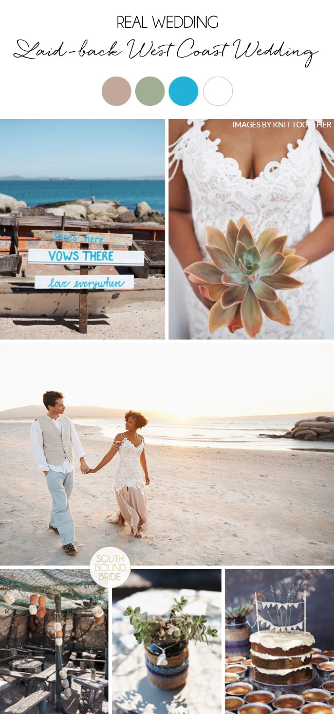 Laid-back West Coast Wedding by Knit Together | SouthBound Bride