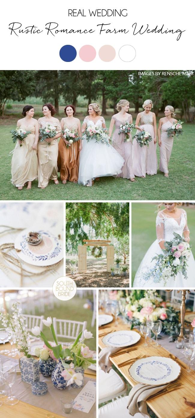 Rustic Romance Farm Wedding by Rensche Mari | SouthBound Bride
