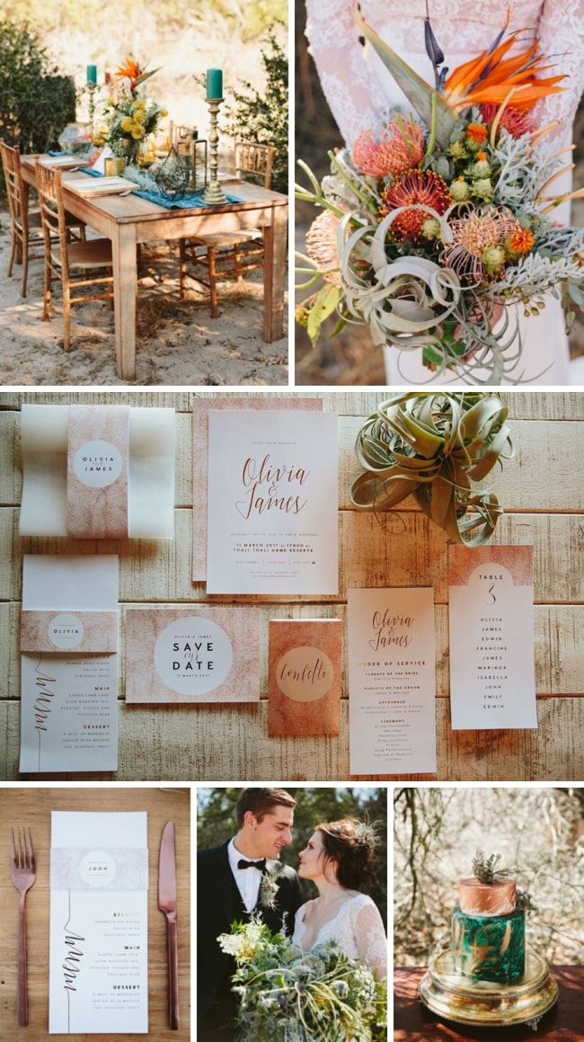 Bohemian Safari Wedding Inspiration by Coba Uys & Journey Weddings | SouthBound Bride