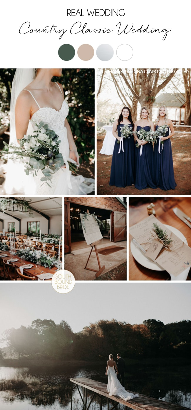 Country Classic Wedding at The Glades by Fiona Clair | SouthBound Bride