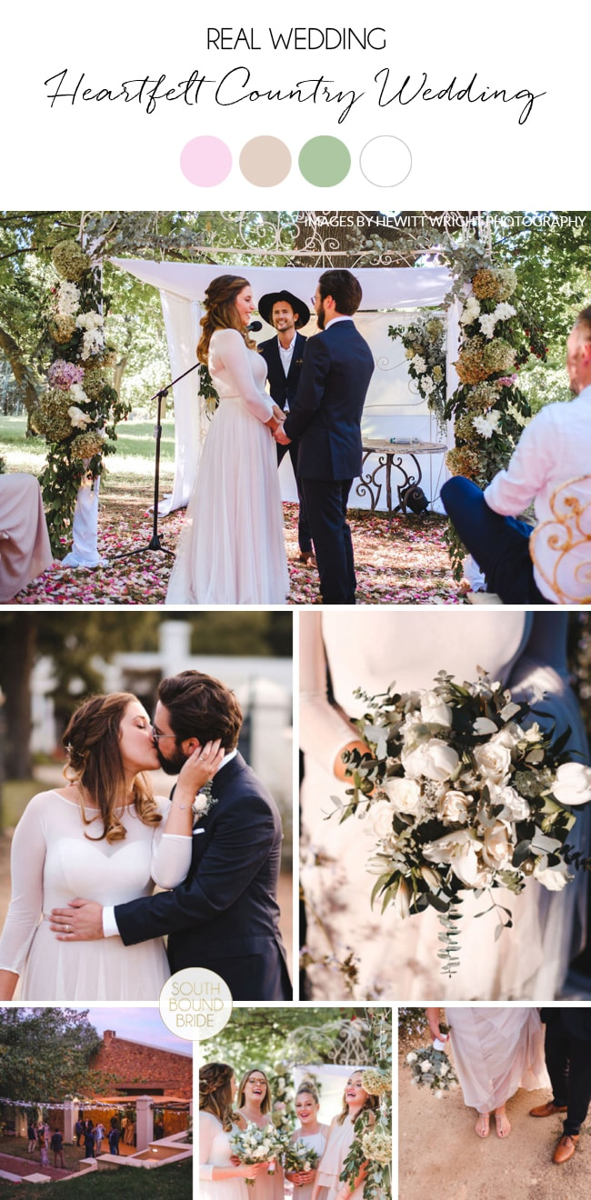 Heartfelt Country Wedding at Elandskloof by Hewitt Wright Photography | SouthBound Bride