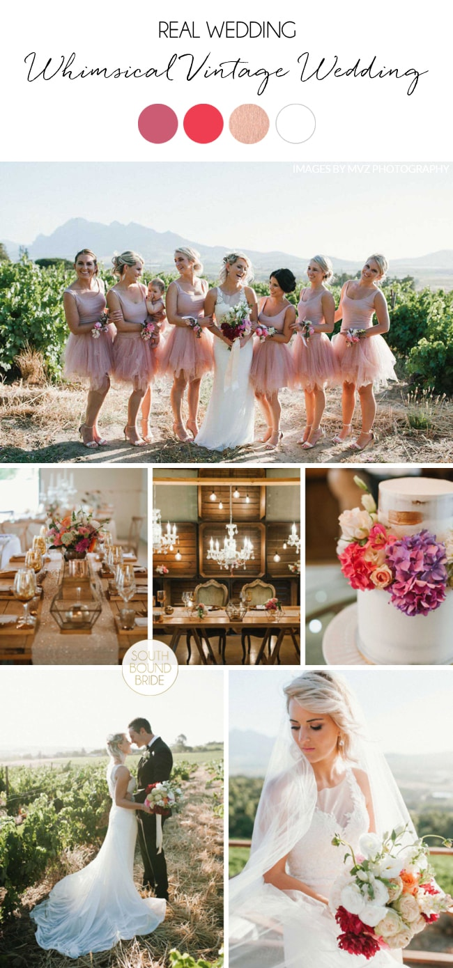 Whimsical Vintage Wedding By Claire Thomson