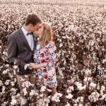 Cotton Fields Engagement Shoot