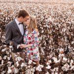 Cotton Fields Engagement Shoot