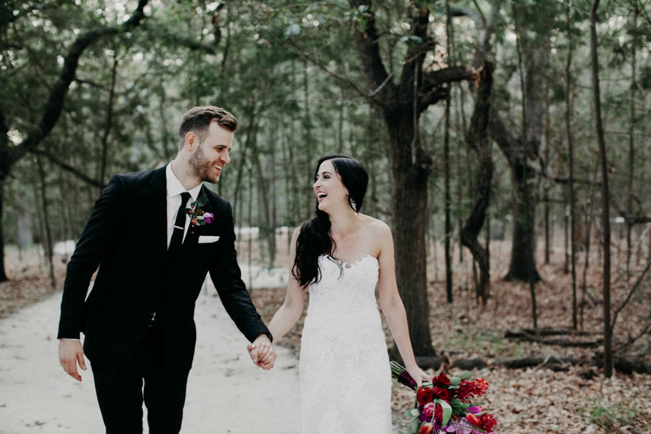 Ravishing Forest Feast Wedding by Fiona Clair | SouthBound Bride