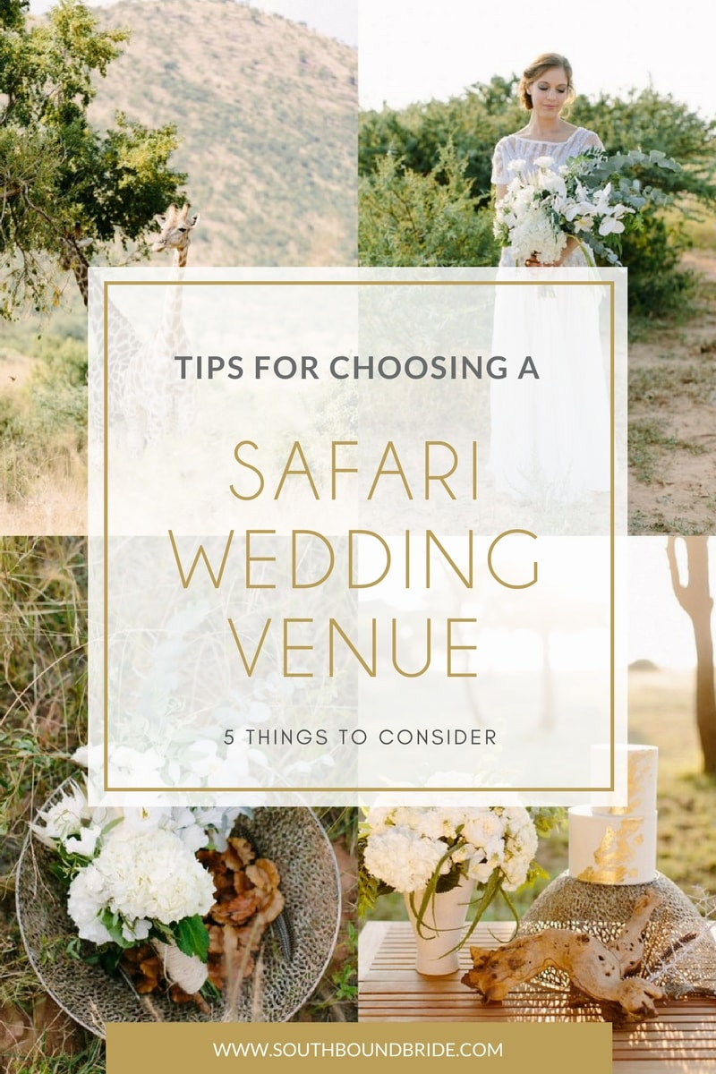 How to Choose a Safari Wedding Venue with Absolute Perfection | SouthBound Bride