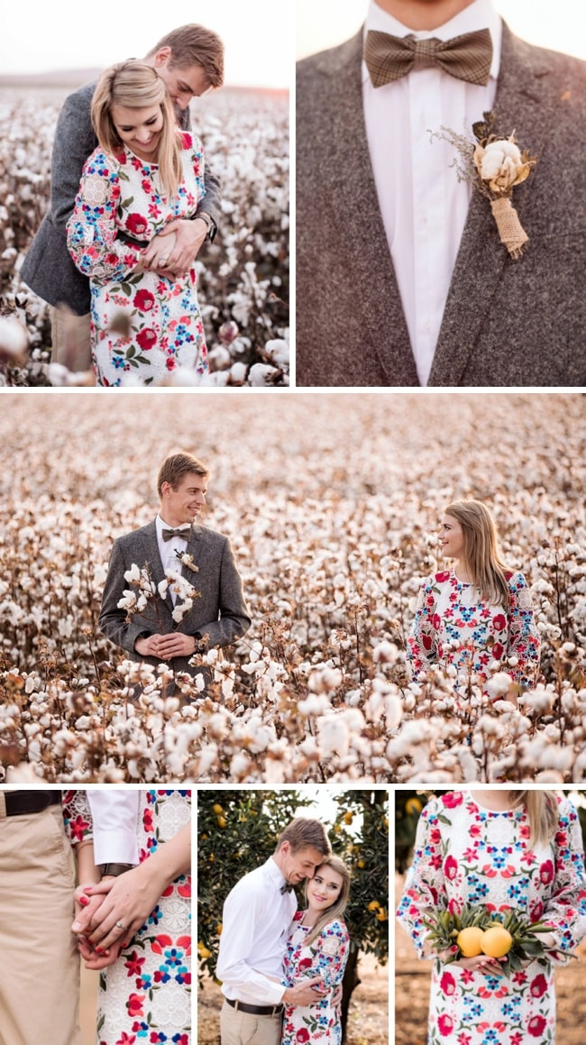 Cotton Fields Engagement Shoot by JCclick | SouthBound Bride