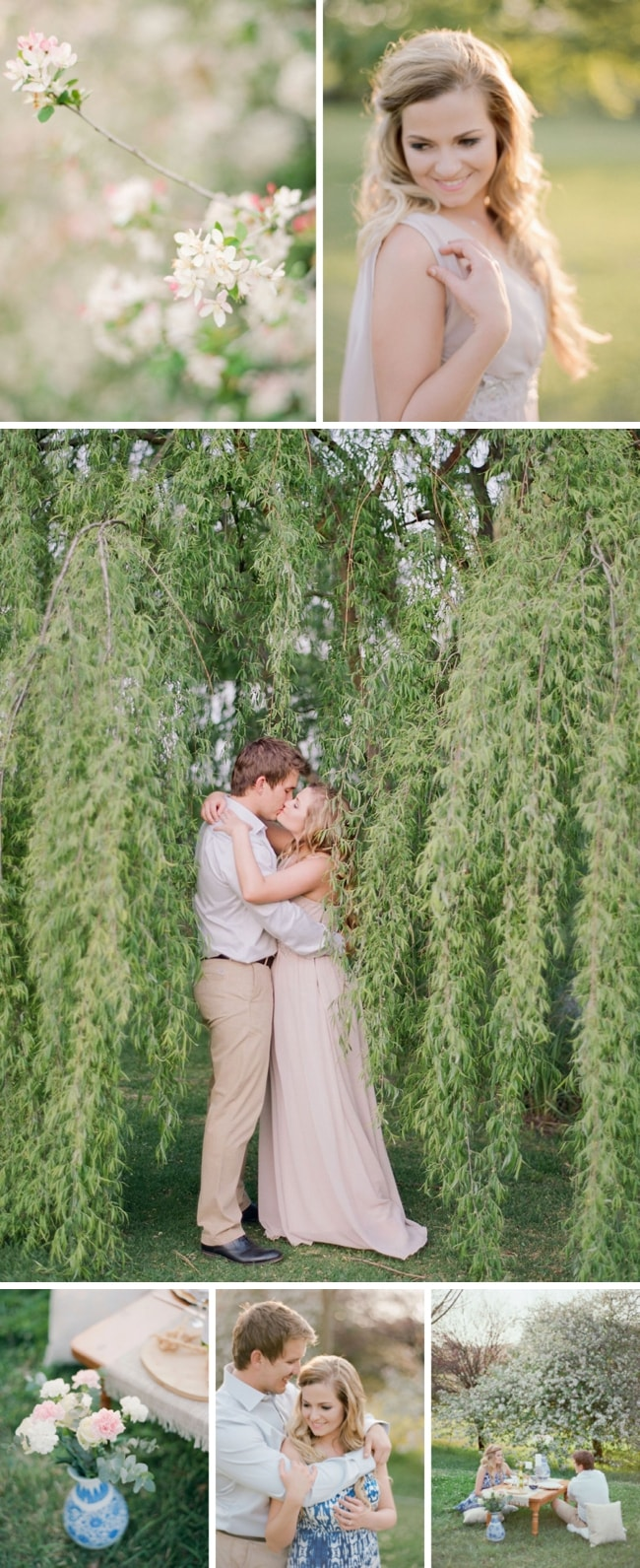 Dreamy Spring Film Engagement by Rensche Mari | SouthBound Bride