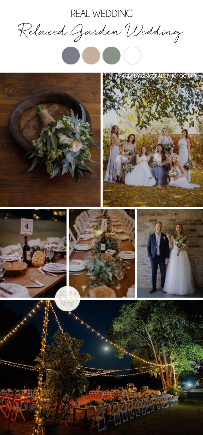 Relaxed Zimbabwe Garden Wedding by GingerAle Photography | SouthBound Bride